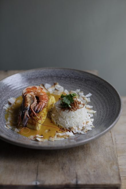 Brasserie Blanc autumn menu Malabar fish curry