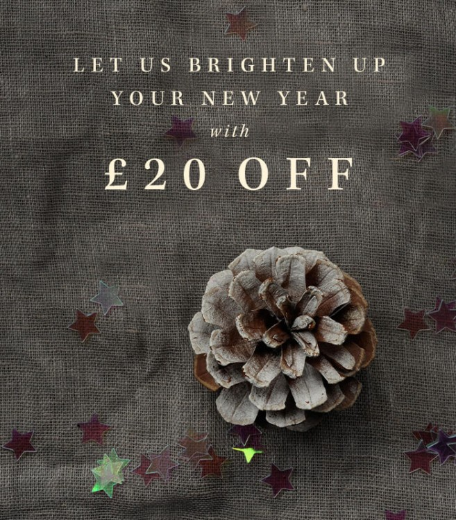 £20 off in the New Year