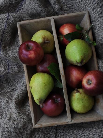 harvest apples Brasserie Blanc