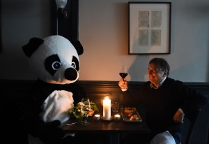 Raymond Blanc Sparks 'Pandamonium' In Race To Book Earth Hour Candlelit Dinner
